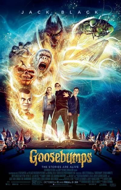 دانلود رایگان فیلم Goosebumps 2015