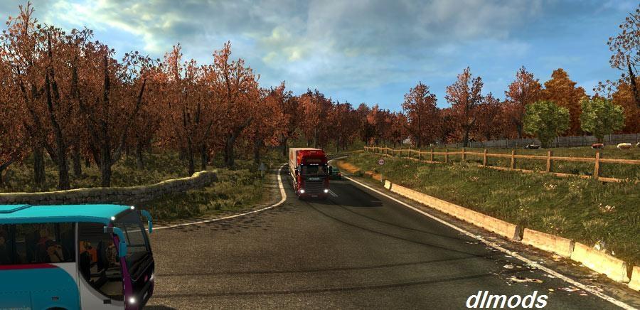دانلود مد فصل پاییز برای یورو تراک 2