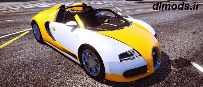 دانلود مد ماشین بوگاتی Bugatti Veyron برای بازی Gta v