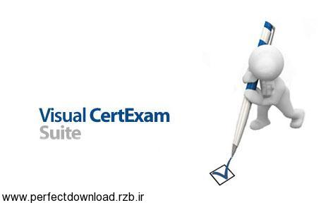 دانلود نرم افزار ایجاد آزمون گزینه ای Visual CertExam Suite 3.4.2
