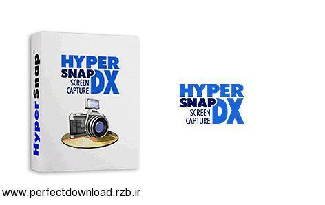 دانلود نرم افزار عکسبرداری از نمایشگر سیستم HyperSnap 8.06.04