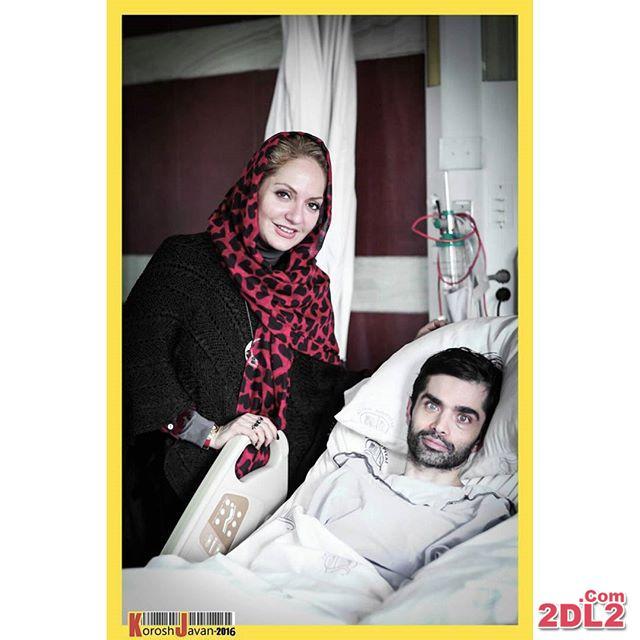 مهناز افشار به ملاقات بازیگر جوان مبتلا به ام اس رفت + عکس