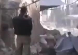 حرکات ابلهانه داعشیها در میدانهای جنگ + فیلم