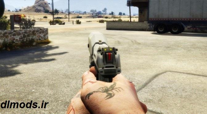 دانلود کلت بازی Half-Life 2 برای Gta v
