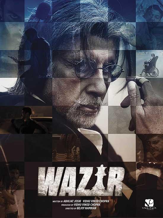 دانلود رایگان فیلم وزیر Wazir 2016