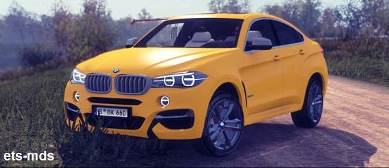 دانلود ماشین فوق العاده BMW X6m + داخلی و صدا برای یورو تراک