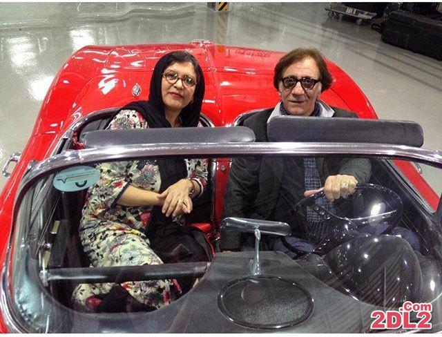 دو بازیگر ایرانی در خودروی لوکس + عکس