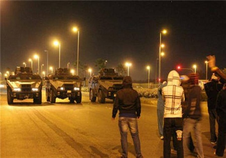 جولان نظامیان سعودی در مناطق شیعه نشین عربستان