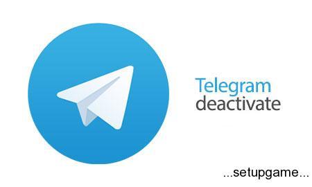 Telegram Deactivate آموزش حذف دائم اکانت تلگرام (موبایل و کامپیوتر)