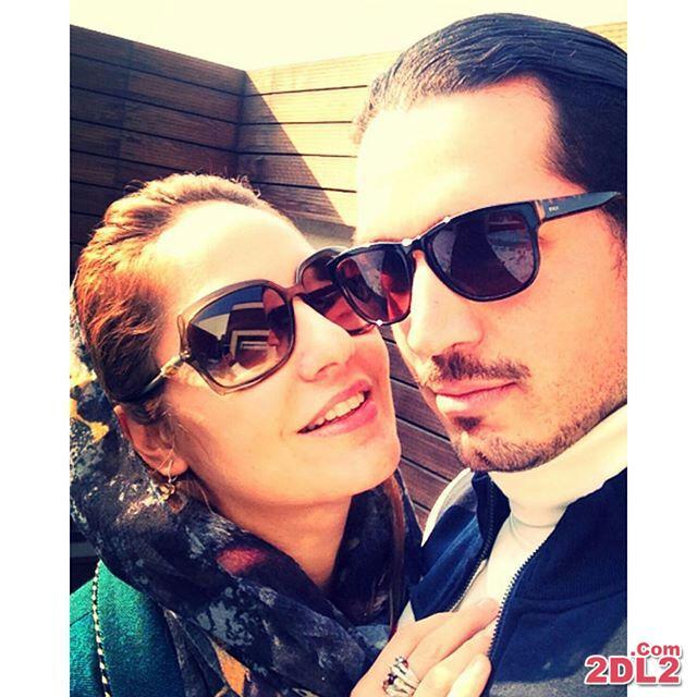 مهناز افشار با انتشار عکسی تولد همسرش را تبریک گفت + عکس