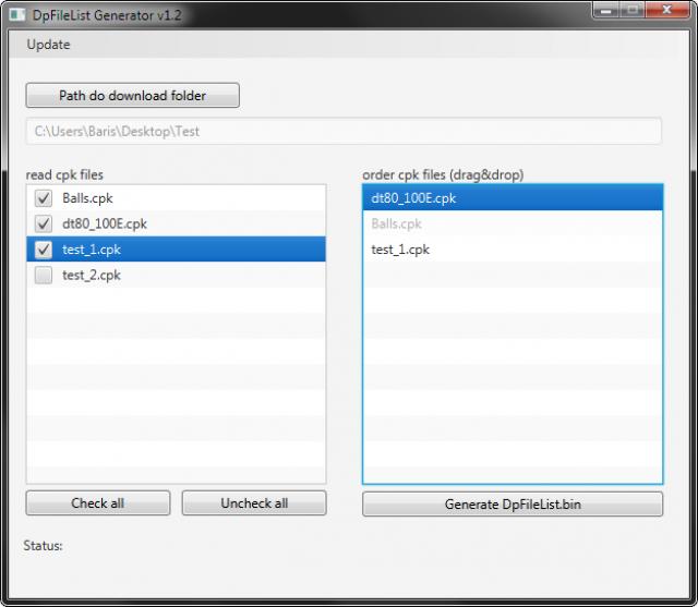 دانلود نرم افزار DpFileListGenerator ورژن  1.3