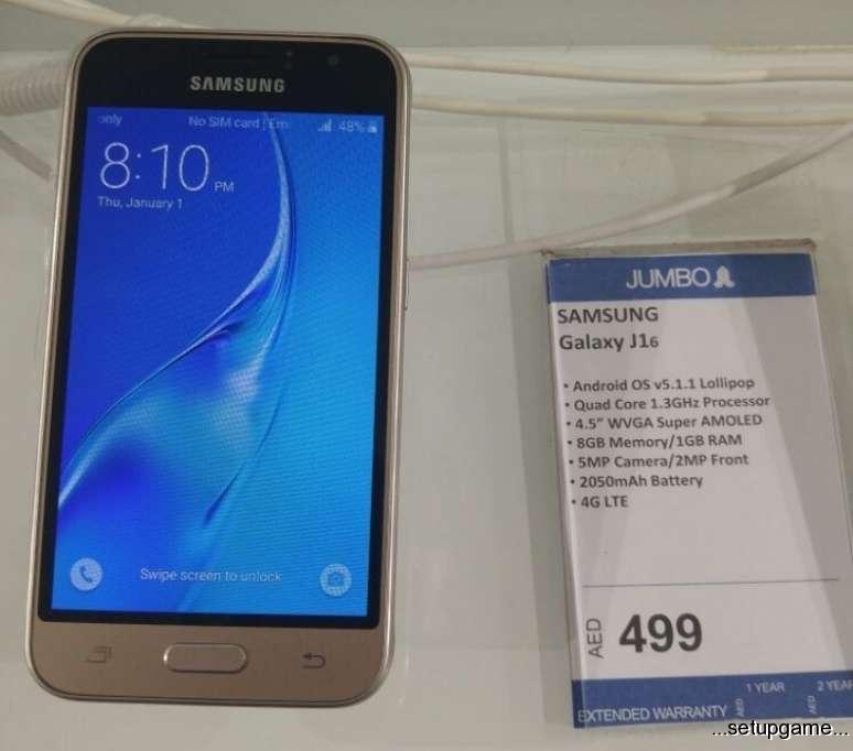 معرفی بی سر و صدای Samsung Galaxy j1 2016