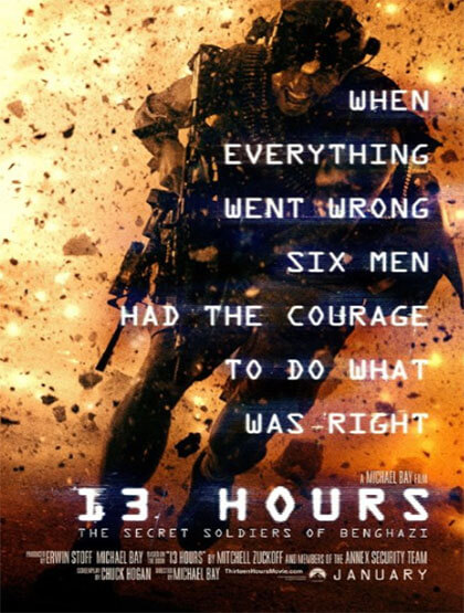 دانلود رایگان فیلم 13 Hours The Secret Soldiers of Benghazi 2016