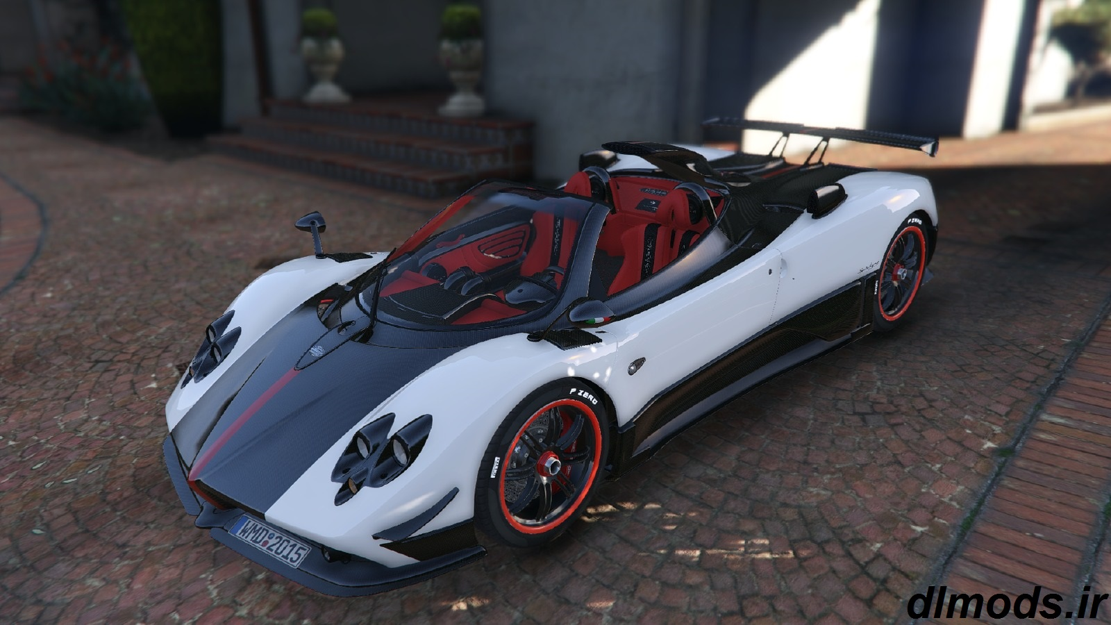 دانلود مد ماشین Pagani Zonda1.2 در بازی GTA V