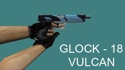 دانلود اسکین کلت glock18_-_vulcan_cs_16 (کلت ترور)