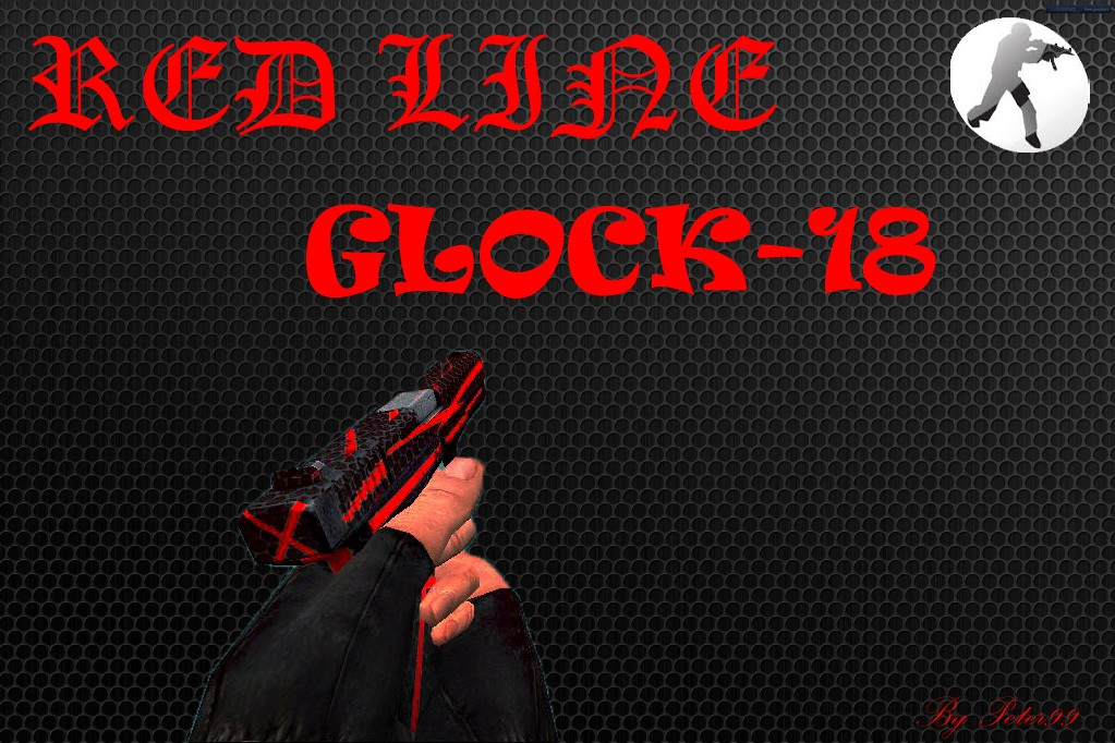 دانلود اسکین کلت red_line_glock (کلت ترور)
