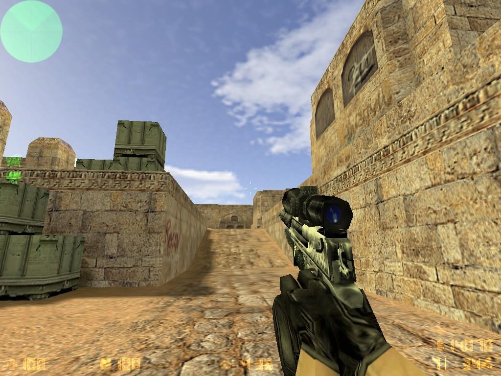 دانلود اسکین دیزرت دوربین دار Desert