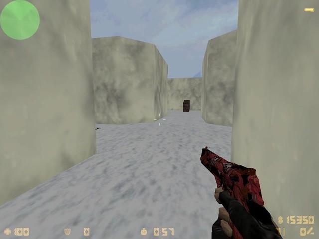 دانلود اسکین قرمز پلنگی برای دیزرت Desert