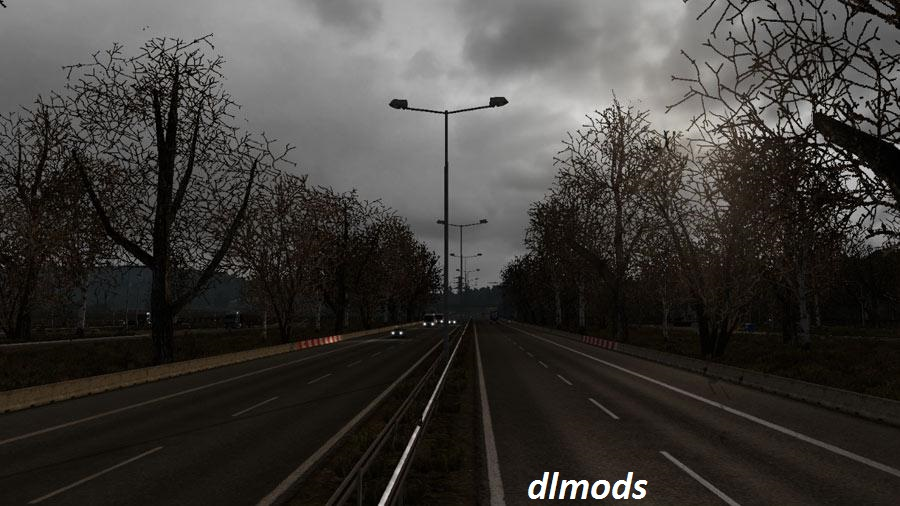 دانلود مد MILD WINTER WEATHER MOD V1.0