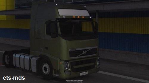 دانلود کامیون بی نظیر volvo fh13 + داخلی برای یورو تراک