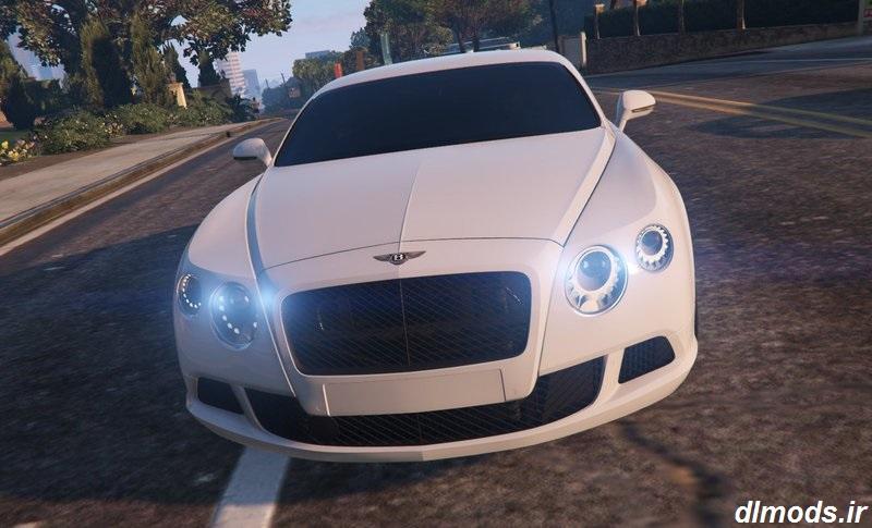 دانلود مد ماشین Bentley Continental GT 2012 در بازی GTA V