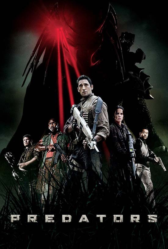 دانلود رایگان فیلم شکارچیان Predators 2010