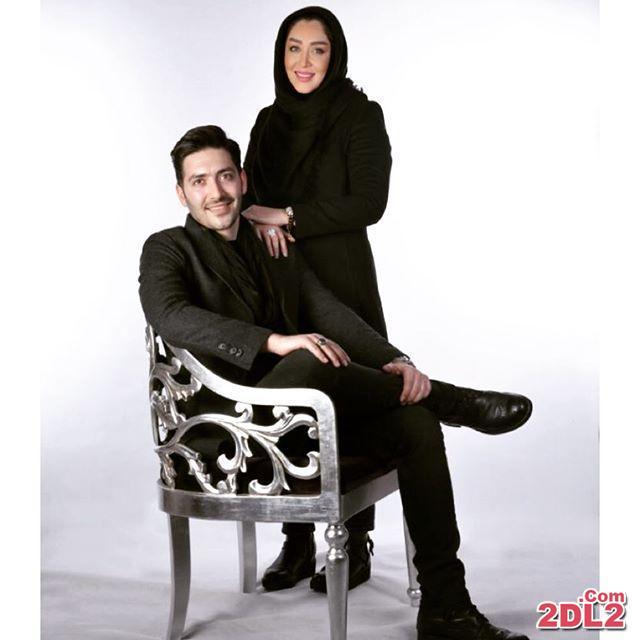 عکس جدید سارا منجزی در کنار برادرش