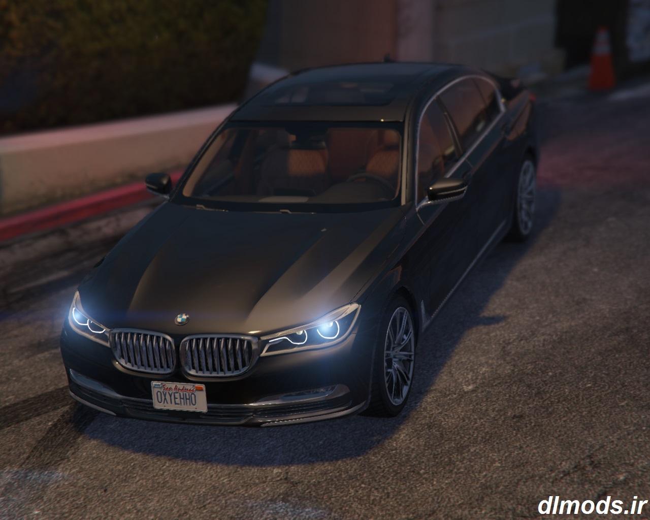 دانلود مد ماشین BMW 750Li در بازی GTA V