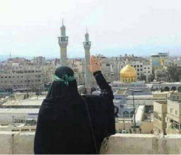 شهید آینده مدافع چادر