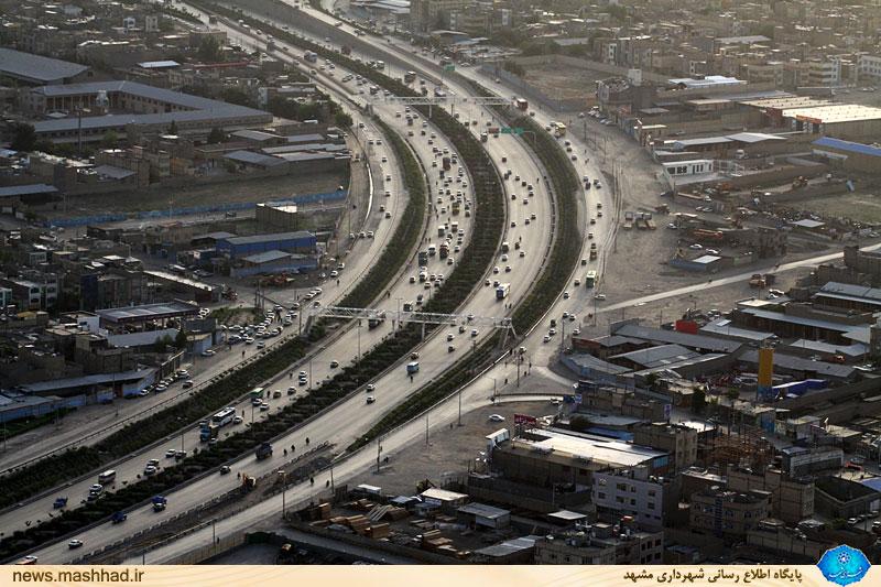 ساخت 17 تقاطع همسطح و غیرهمسطح در مشهد آغاز شد