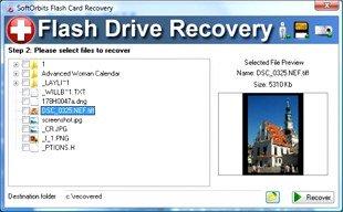 بازیابی فایلها از روی حافظه های قابل حمل با Flash Drive Recovery 1.3
