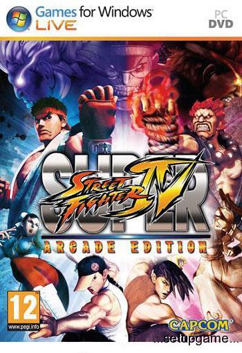 دانلود کرک بازیSuper Street Fighter IV: Arcade Editionبالینک مستقیم