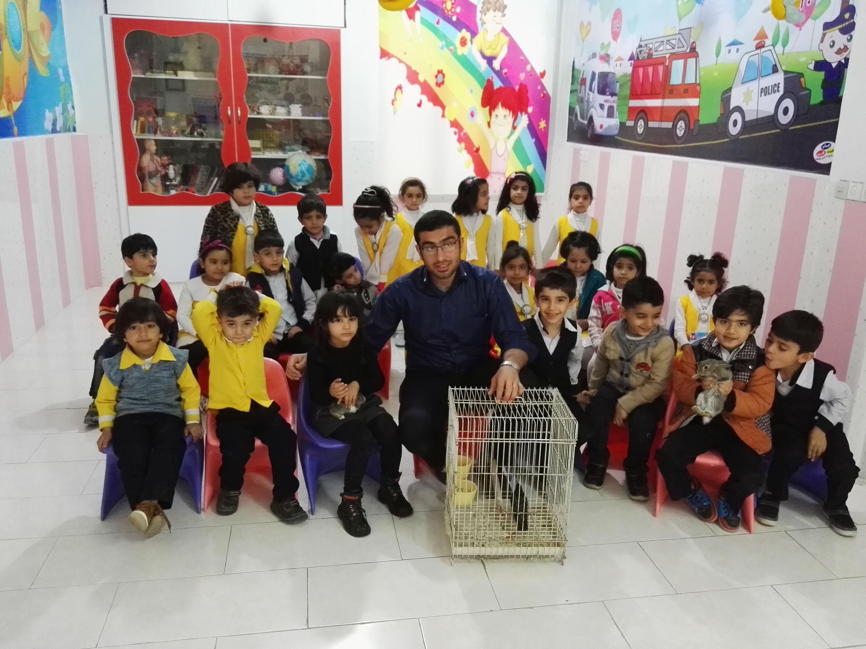 آشنایی با حیوانات و پرندگان