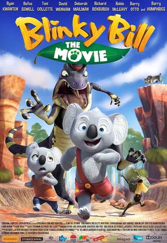 دانلود رایگان انیمیشن Blinky Bill the Movie 2015
