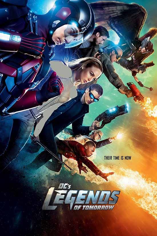 دانلود رایگان سریال افسانه های فردا Legends of Tomorrow