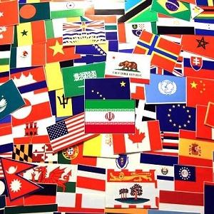 پروژه بررسی پرچم های ملل
