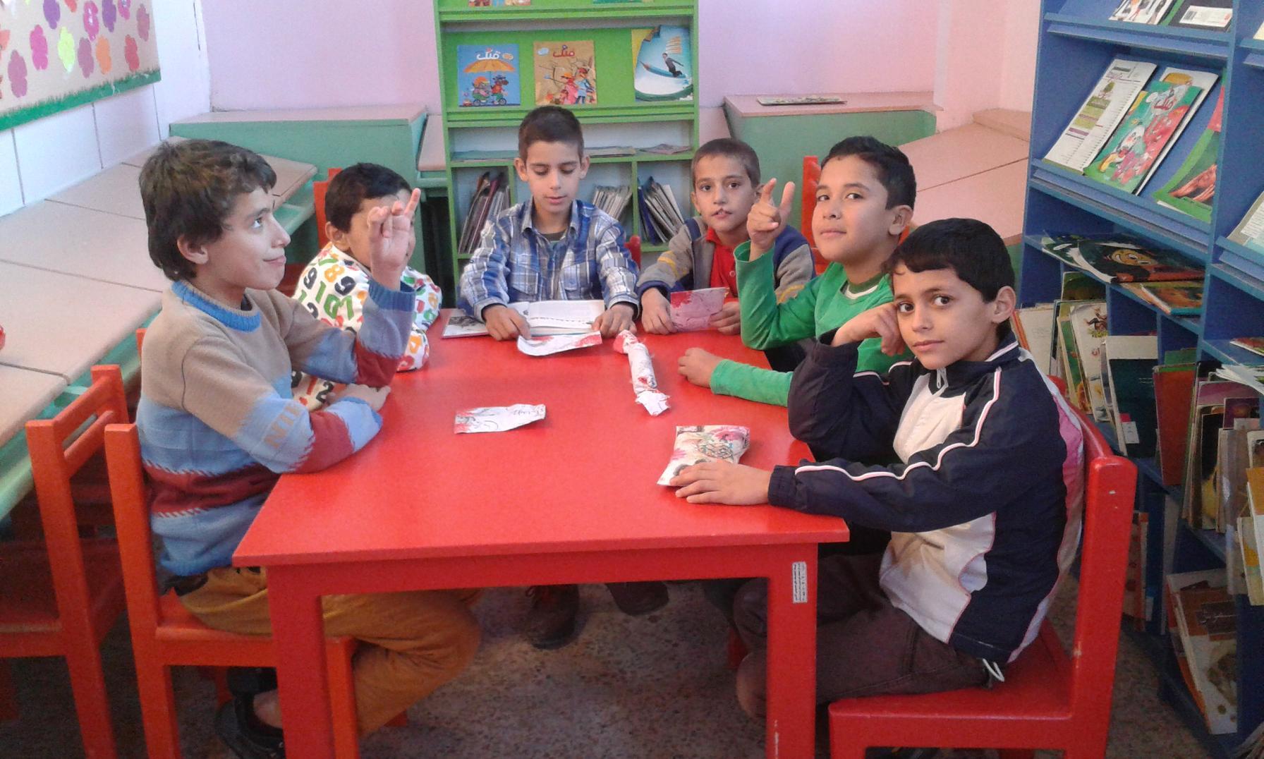 قصه خوانی کودکان در میلاد فرخنده امام حسن عسکری (ع)