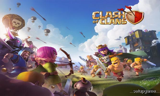 دانلود Clash of Clans8.212.3 – بازی آنلاین جنگ قبیله ها اندروید – 2فروردین95