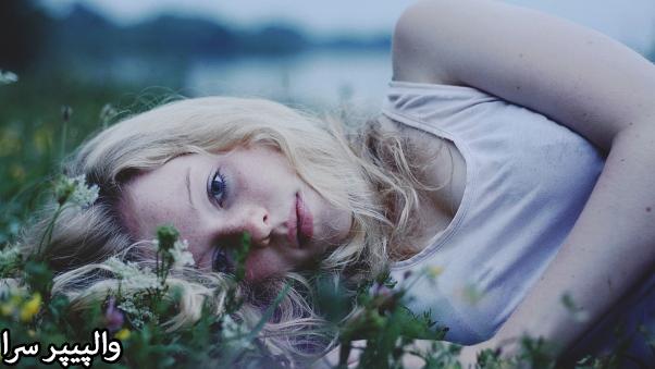 عکس دختر زیبا و غمگین