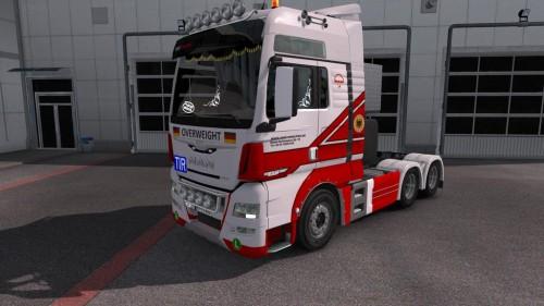 دانلود مد فوق العاده اسکین برای کامیون MAN TXG EURO 6