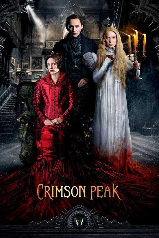 دانلود رایگان فیلم قله زرشکی Crimson Peak 2015