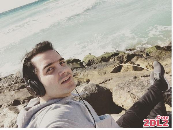 عکس جدید منتشر شده از محسن یگانه در ساحل