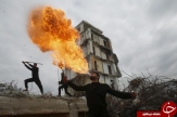 ظهور نینجاها در خرابه های غزه !+10 عکس