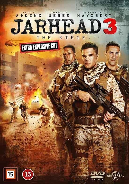 دانلود رایگان فیلم تفنگدار دریایی 3: محاصره Jarhead 3: The Siege 2016