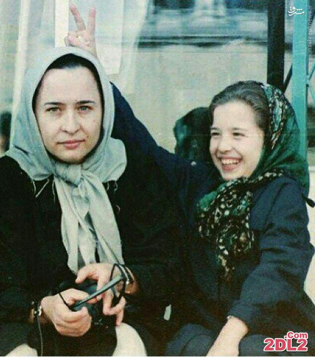 تصویر دیده نشده از مهراوه شریفی نیا و مادرش