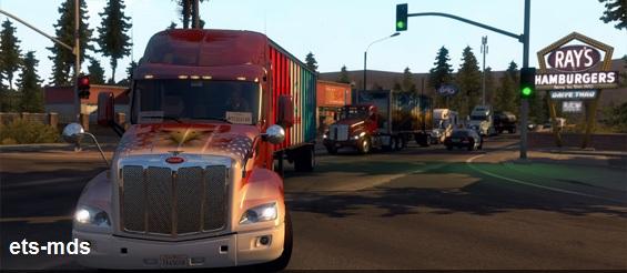 دانلود بازی فوق العاده زیبای american truck simulator