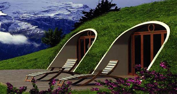 ساخت خانه قابل سکونت هابیت ها در دنیای واقعی !