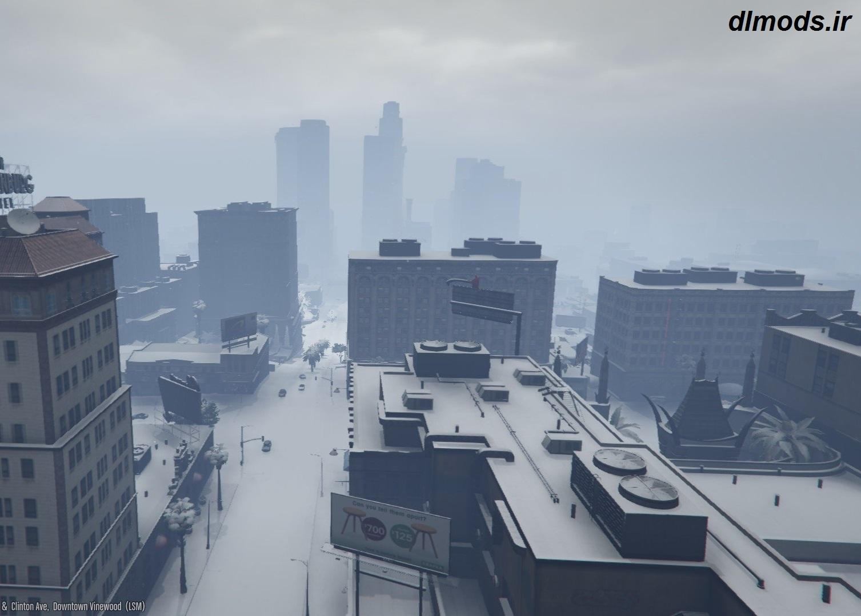 دانلود مد زمستان در بازی GTA V