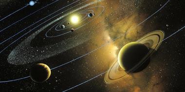 اطلاعاتی درباره ی منظومه شمسی