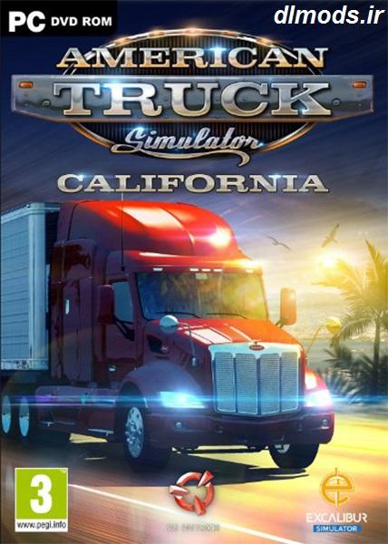 دانلود بازی American Truck Simulator نسخه 3DM
